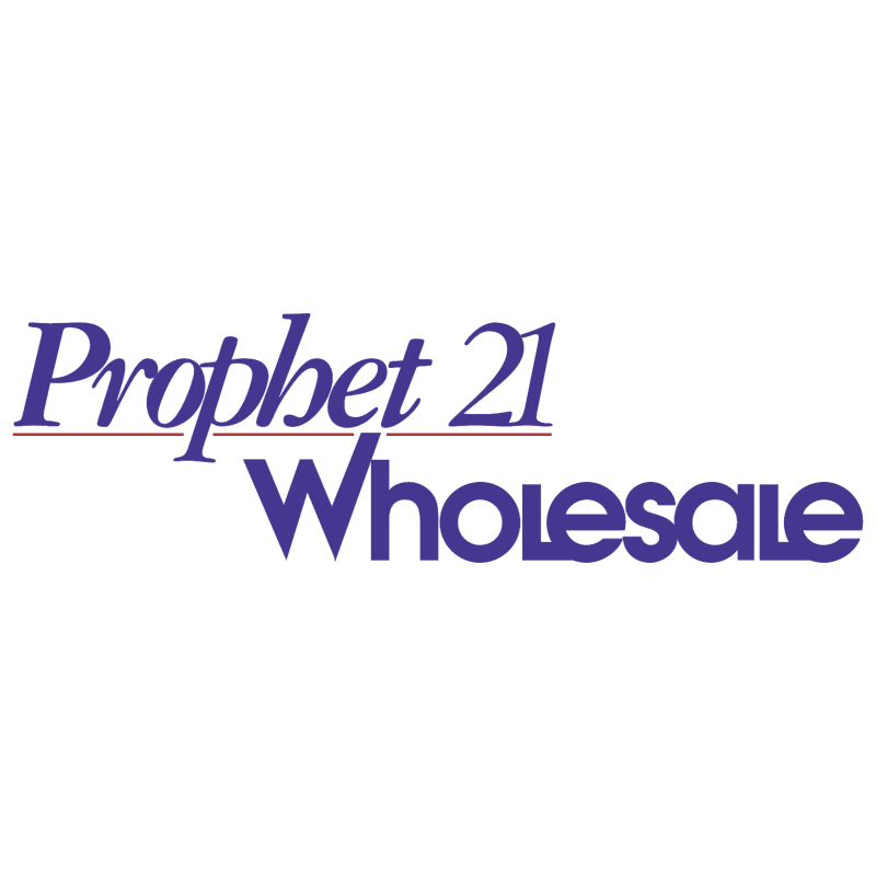 Prophet 21 Wholesale vector
