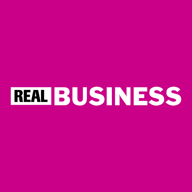Real Business vector logo