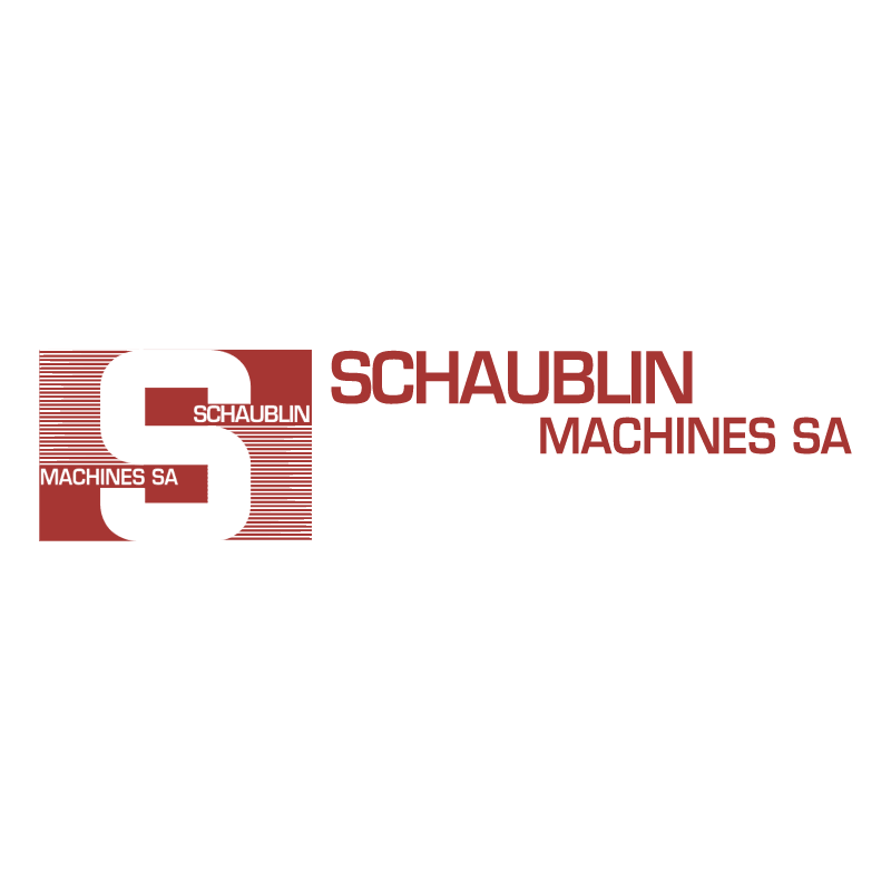 Schaublin Machines vector logo