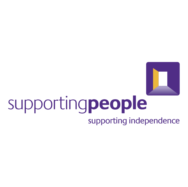 Supporting People vector