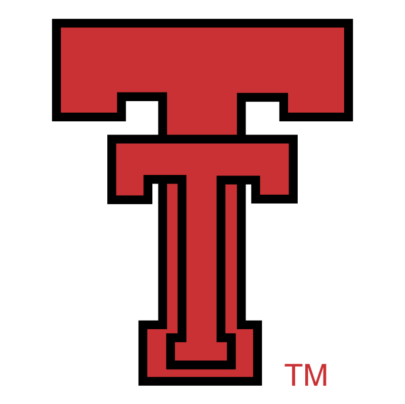 Texas Tech Red Raiders vector logo