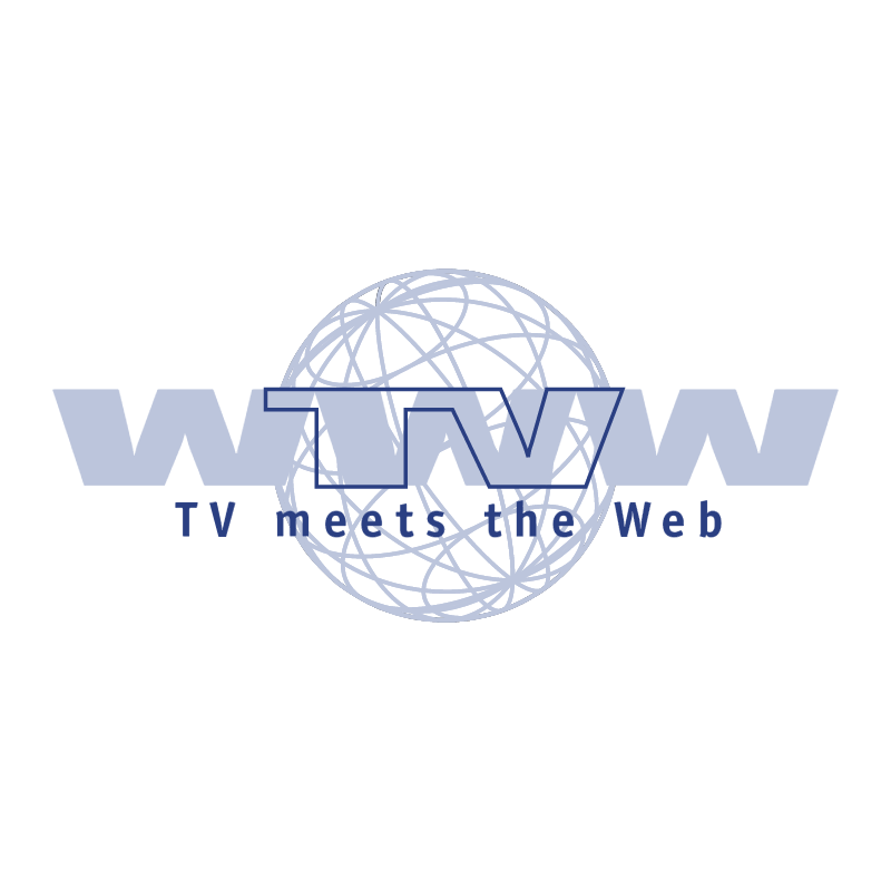 TV Meets the Web vector