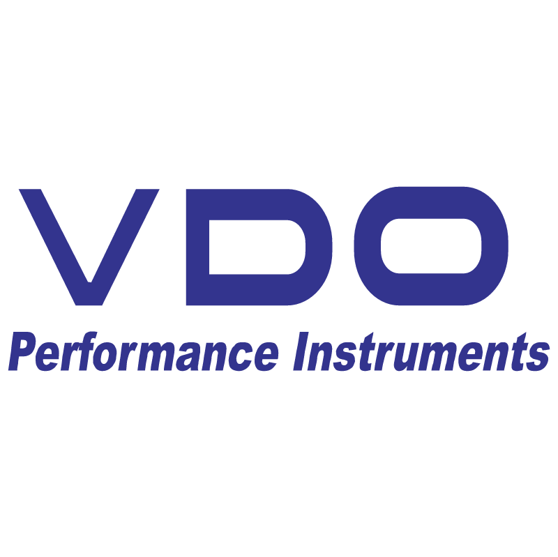VDO Performance Instruments vector logo