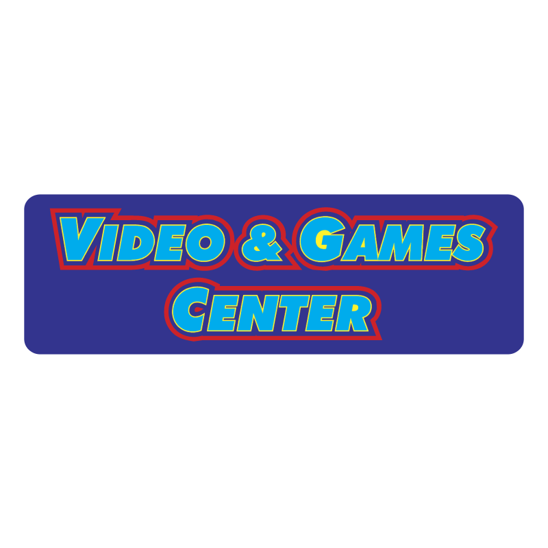 Video & Games Center vector