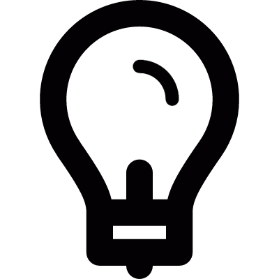 Lightbulb vector logo