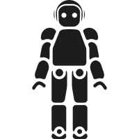 Robot of Japan vector