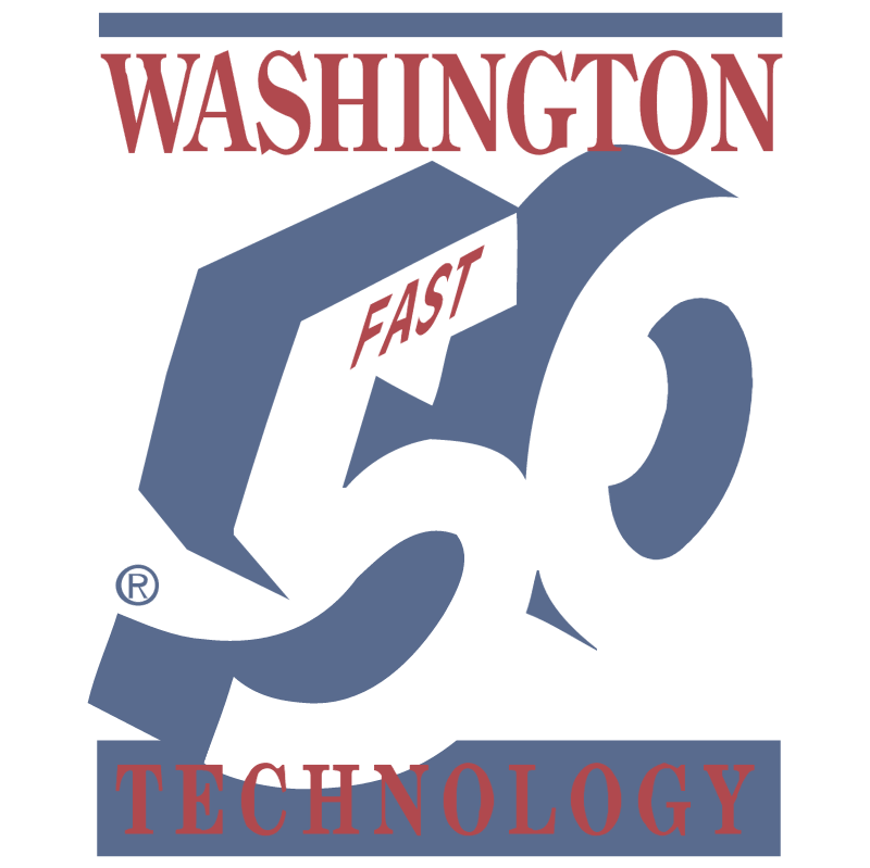 50 Washington Fast Technology vector