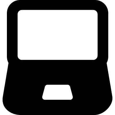 Laptop Monitor vector logo