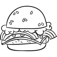 Complete Hamburger vector