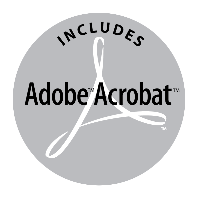Adobe Acrobat Includes vector