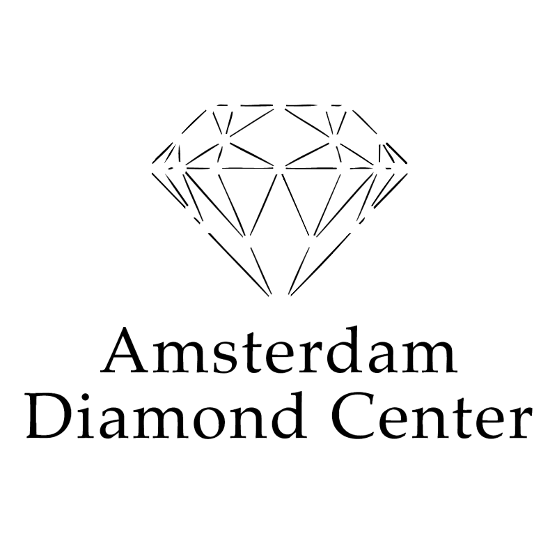 Amsterdam Diamond Center 74225 vector