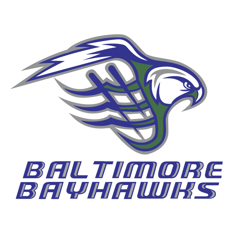 Baltimore Bayhawks 76381 vector