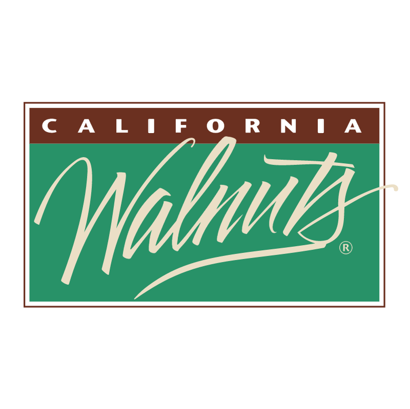 California Walnuts vector