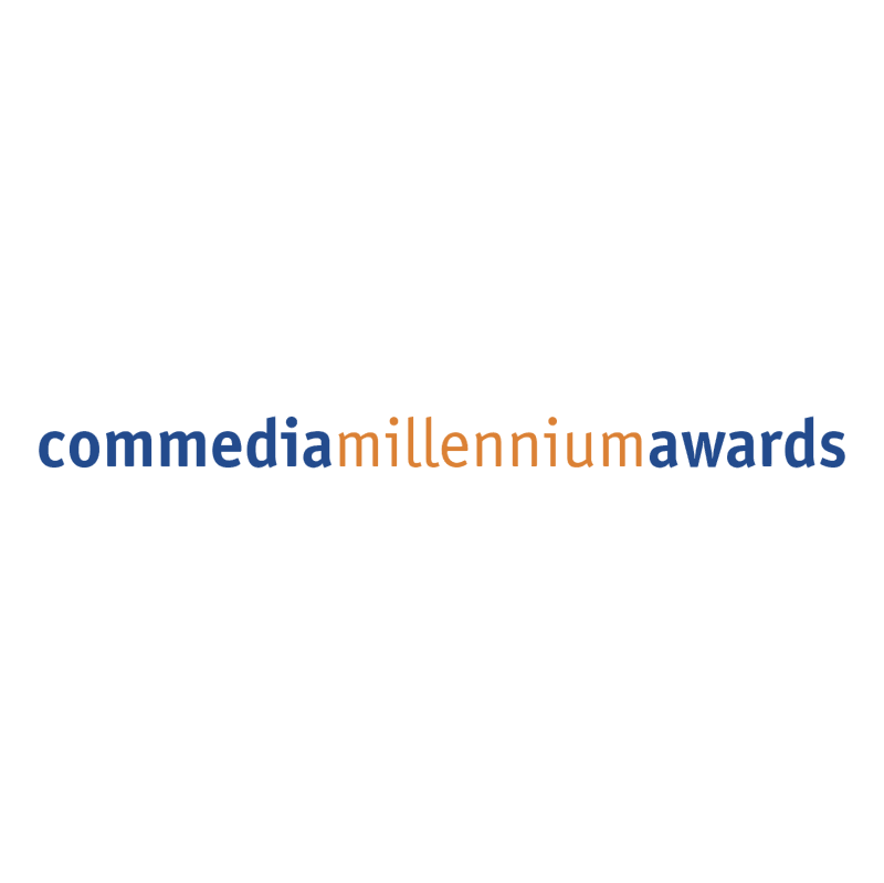 Commedia Millennium Awards vector