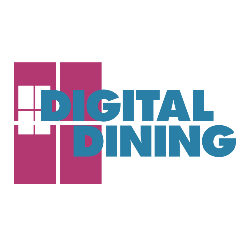 Digital Dining vector