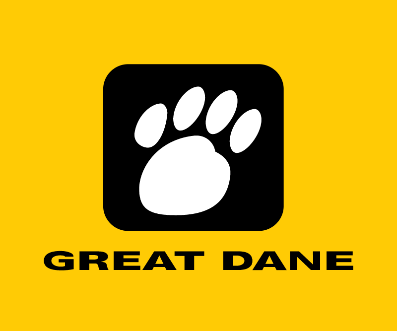 Great Dane vector logo