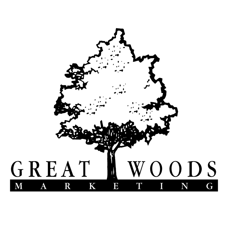 Great Woods Marketing vector