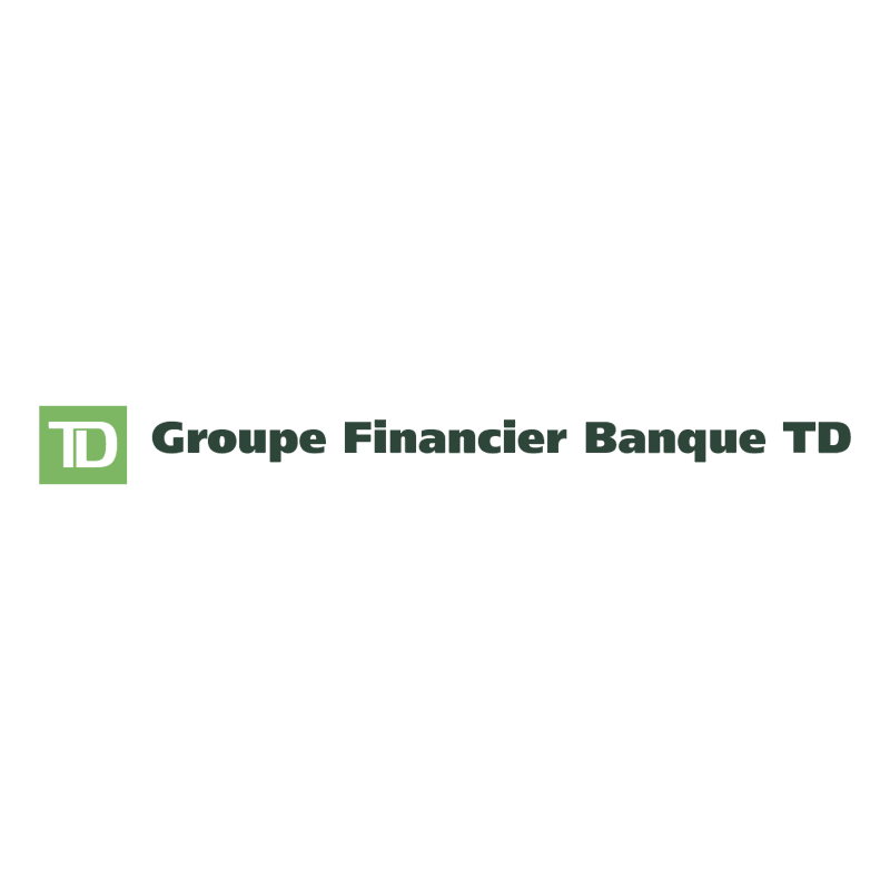 Groupe Financier Banque TD vector