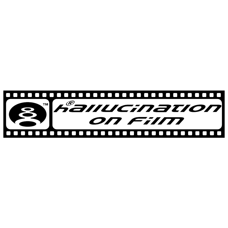 Hallucination On Film vector
