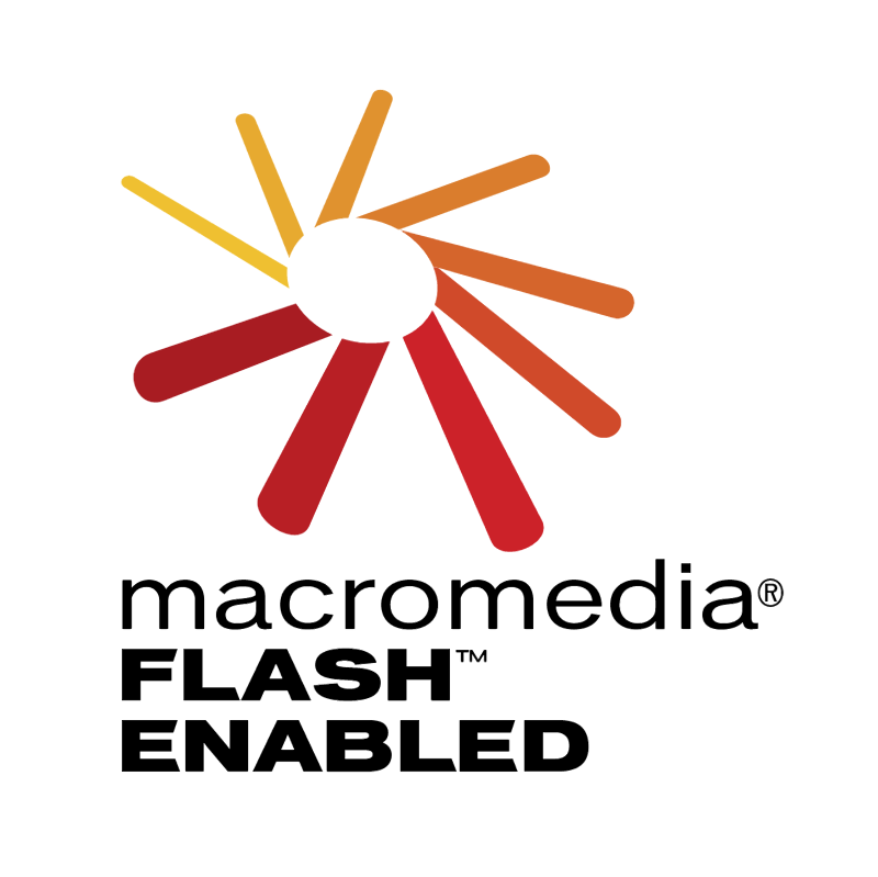 Macromedia Flash Enabled vector
