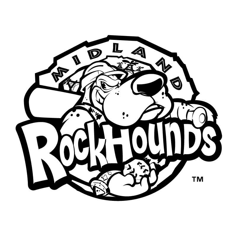 Midland RockHounds vector