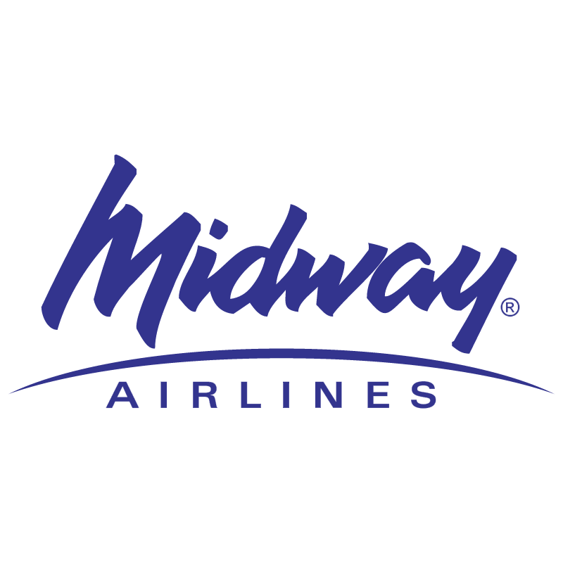 Midway Airlines vector