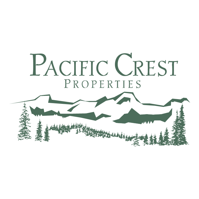 Pacific Crest Properties vector logo