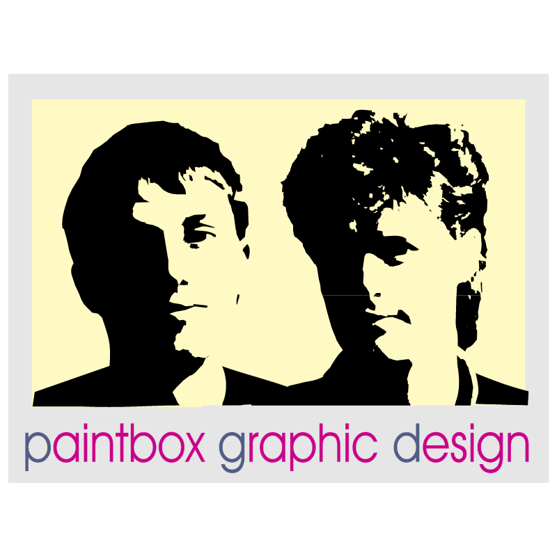 Paintbox Graphic Design vector