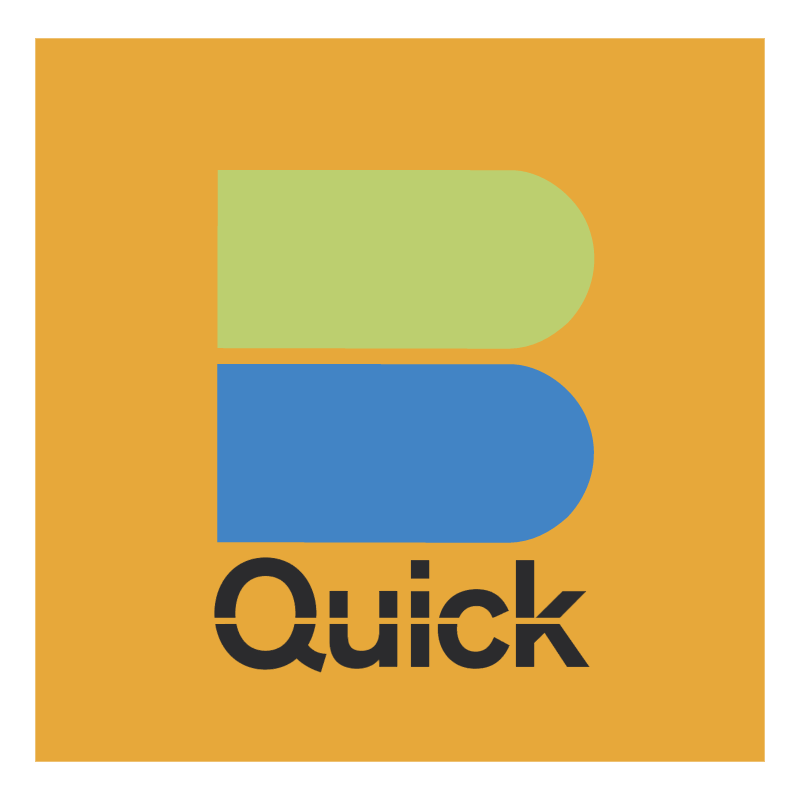 Quick statt Cash vector