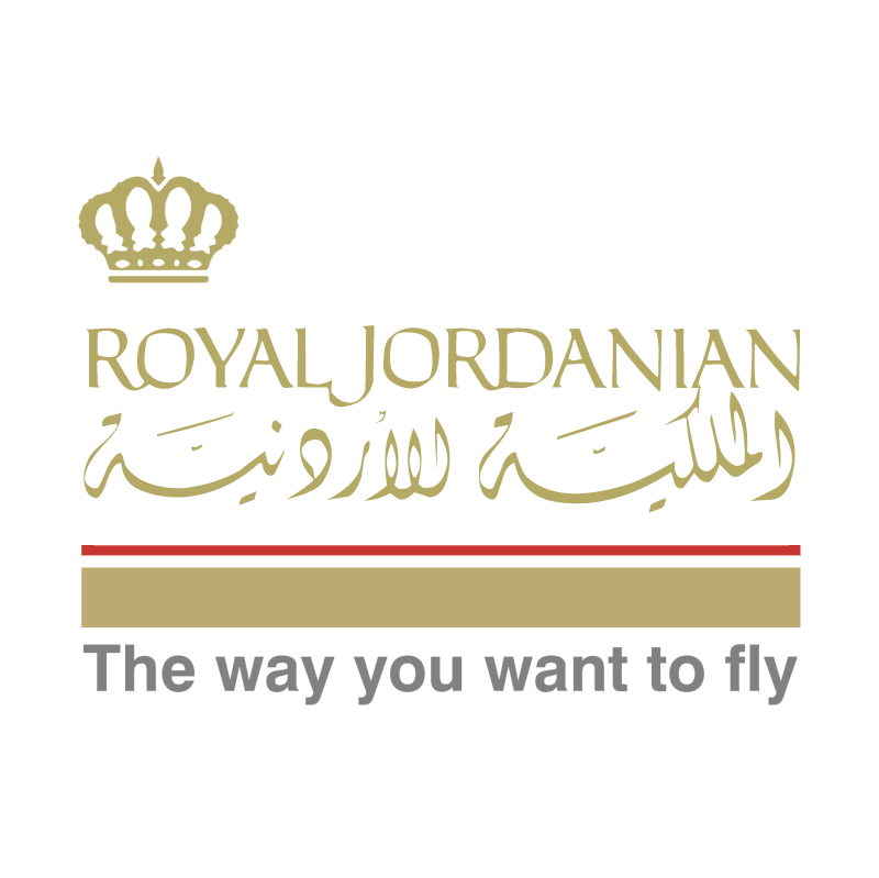 Royal Jordanian vector