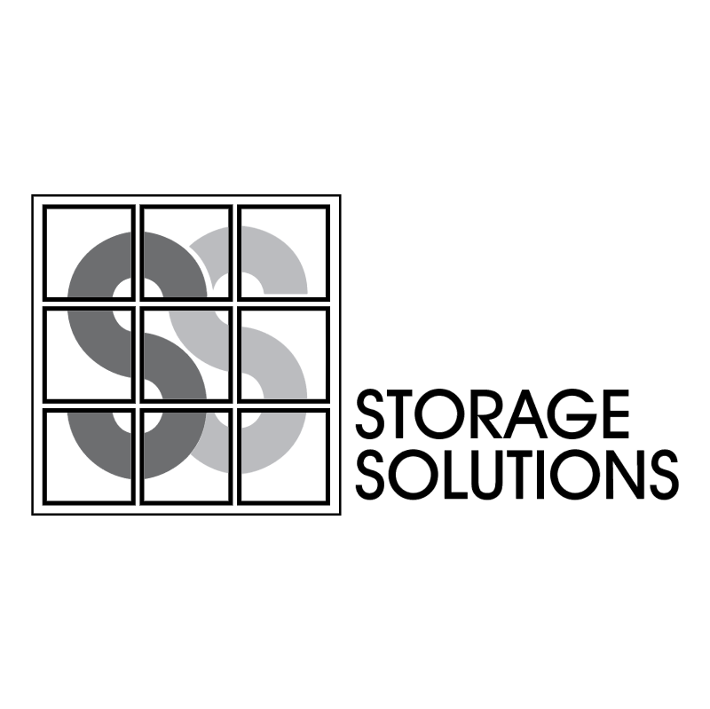 Storage Solutions vector