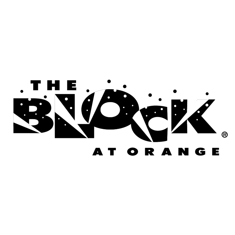 The Block at Orange vector