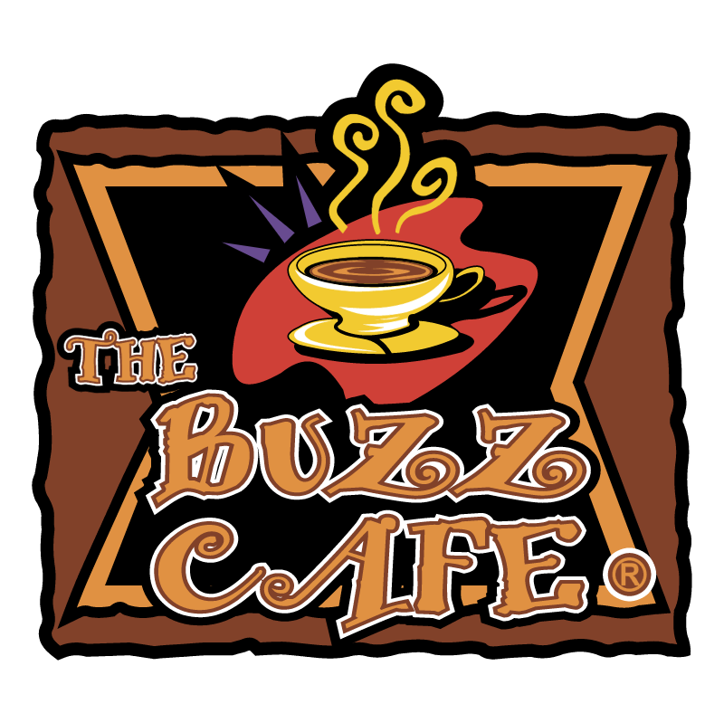 The Buzz Cafe de Torreon vector