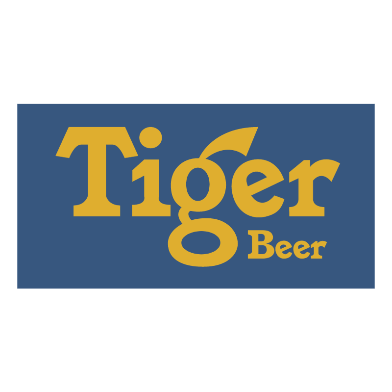 Tiger Beer vector logo