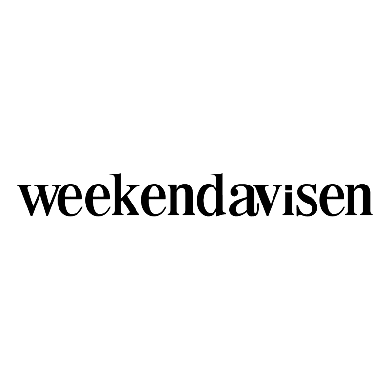 Weekendavisen vector logo