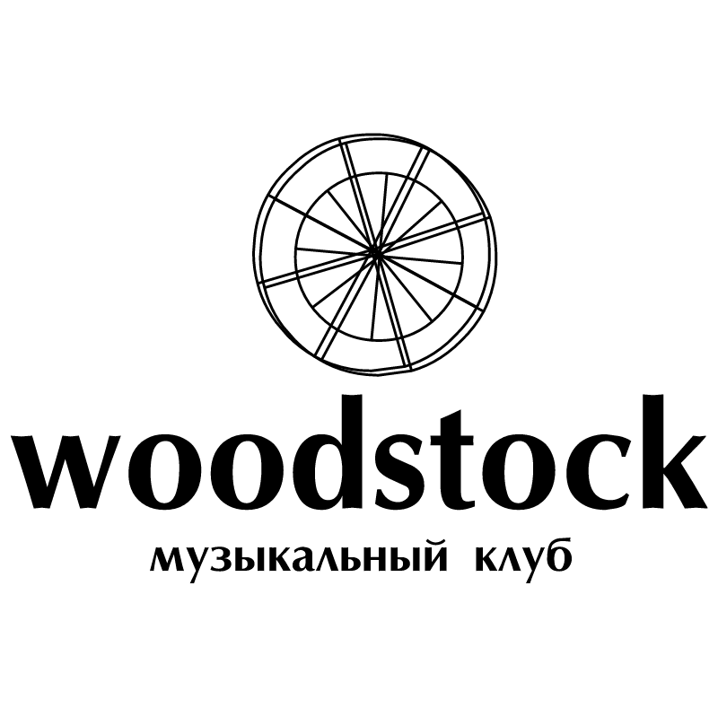 Woodstock vector logo