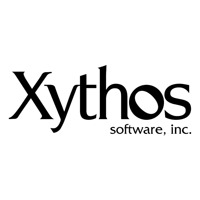 Xythos Software vector logo