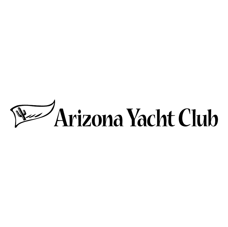Arizona Yacht Club vector