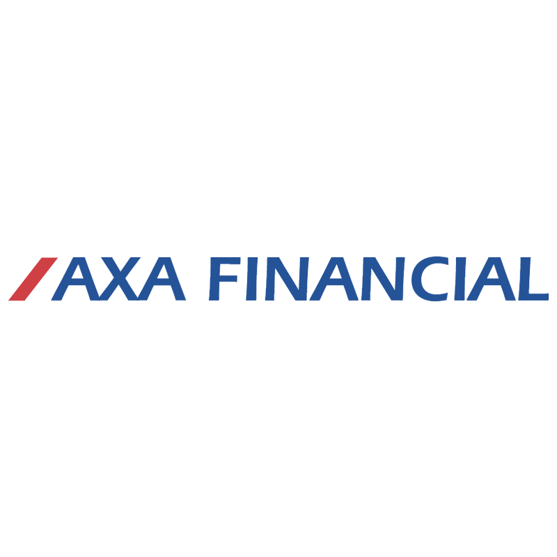 AXA Financial vector logo