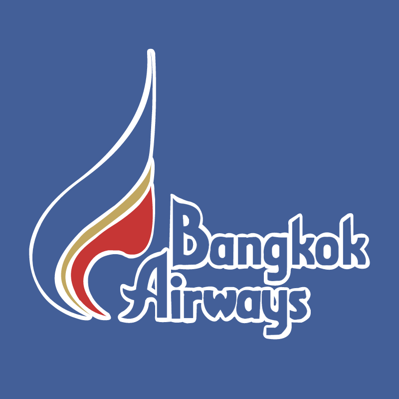 Bangkok Airways 38295 vector