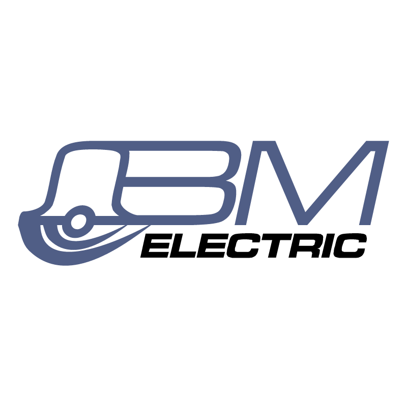 BM Electric vector logo