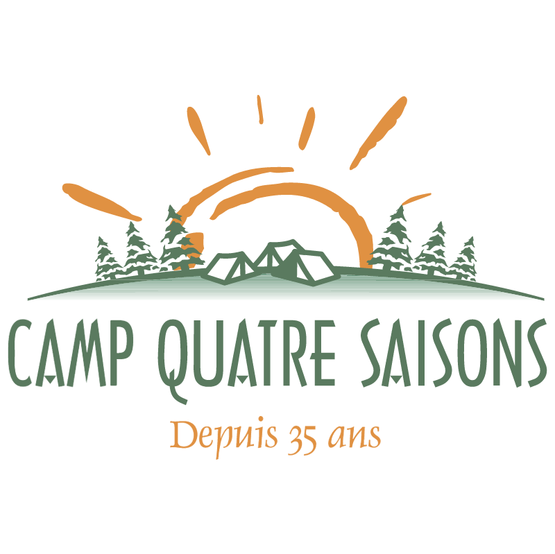 Camp Quatre Saisons 1076 vector