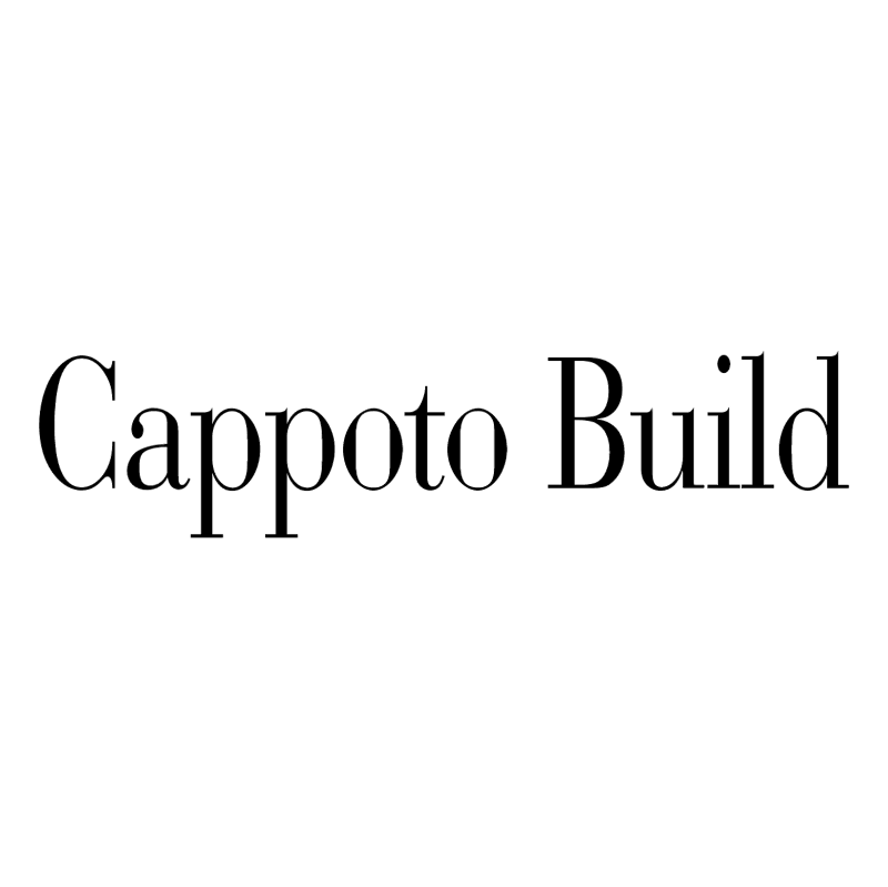 Cappoto Build vector