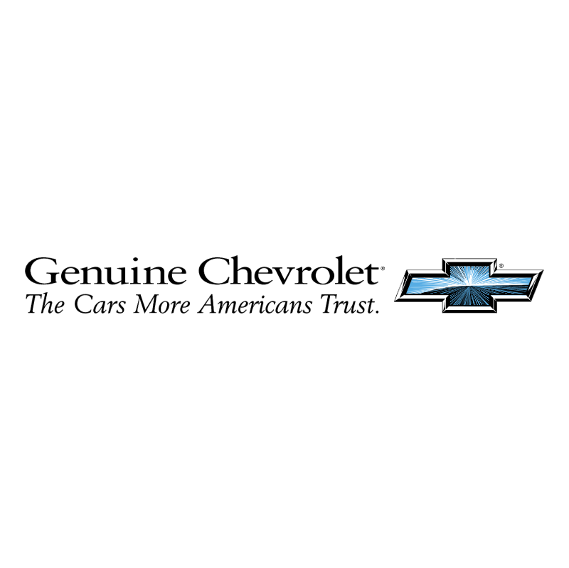 Chevrolet Genuine vector logo