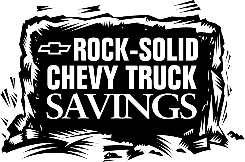 Chevrolet Truck Savings vector logo