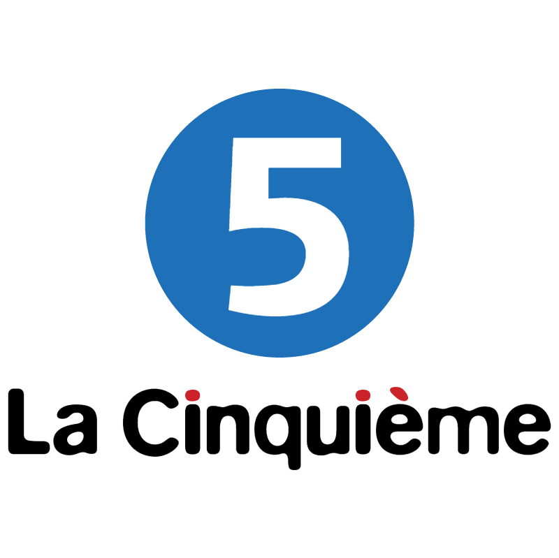 Cinquieme TV vector