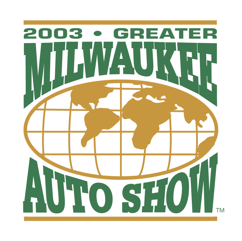 Greater Milwaukee Auto Show vector