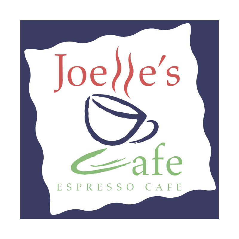 Joelle's Cafe vector logo