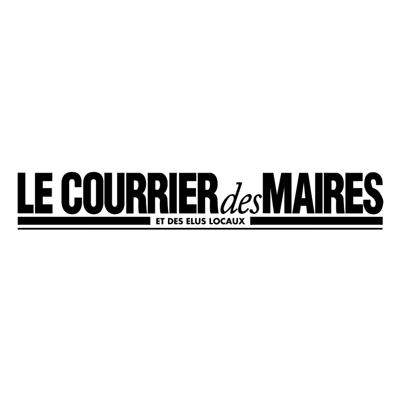 Le Courrier Des Maires vector