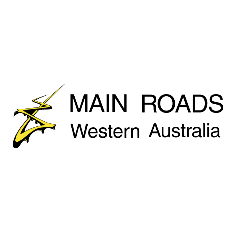 Main Roads vector